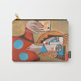 I'm Adorable Picasso Style Selfie Carry-All Pouch