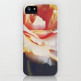 ORANGE FEELINGS iPhone Case