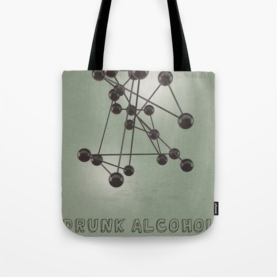 Drunk Alcohol Tote Bag