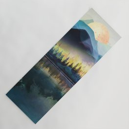 Mountain Lake Under Sunrise Yoga Mat