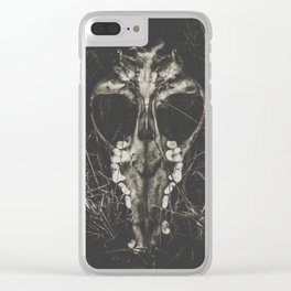 The mask Clear iPhone Case