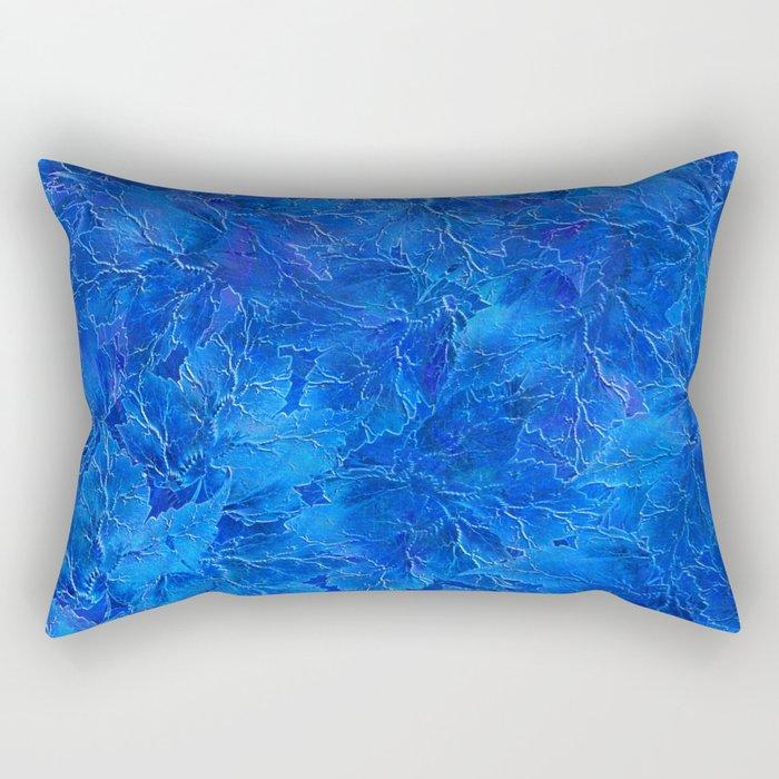 Frozen Leaves 6 Rectangular Pillow