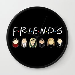 Friends Tiggles Wall Clock