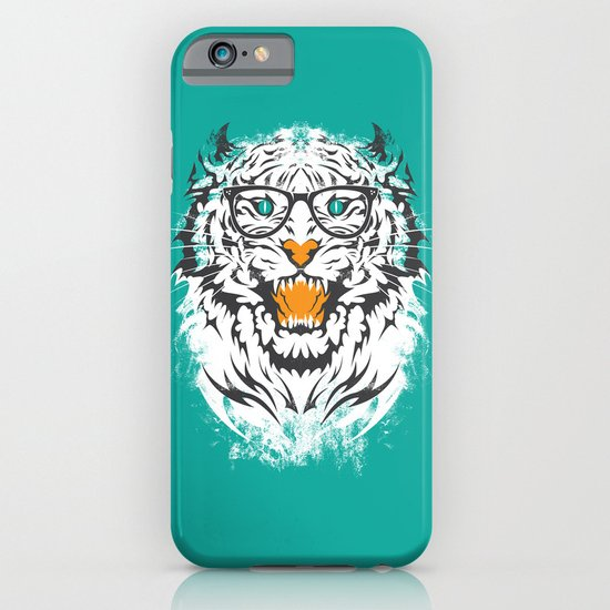 tigeek (white ver.) iPhone & iPod Case