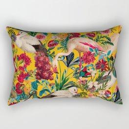 FLORAL AND BIRDS XVIII Rectangular Pillow