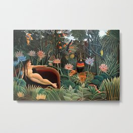 Henri Rousseau - The Dream Metal Print