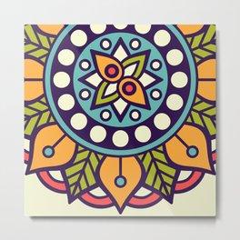Sacred Mandala Metal Print