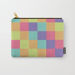 Kids abstract geometry pattern Carry-All Pouch