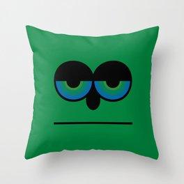 Mister Green Throw Pillow