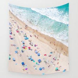 Colors of Manhattan Beach California Wall Tapestry