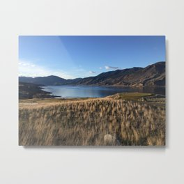 Clear Day by Kamploops Lake Metal Print