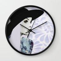 silver Wall Clocks featuring Silver by EISENHART