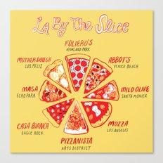 LA By The Slice Canvas Print