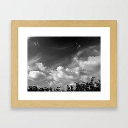 'Valley Clouds #3' Framed Art Print