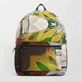 Mirrored Tea Leaves Backpack