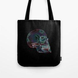 NEON SKULL/3 Tote Bag