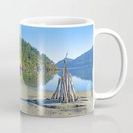 LATE SUMMER ON CRESCENT BEACH ORCAS ISLAND Coffee Mug