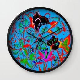 Patternbr4 Wall Clock