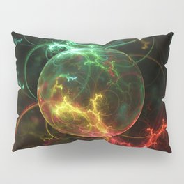 Carniverous Cape Sundew Tentacles in an Ecosphere Pillow Sham