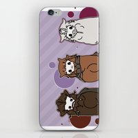 nori iPhone & iPod Skins featuring Dwarpaca family #3 by Lady Cibia