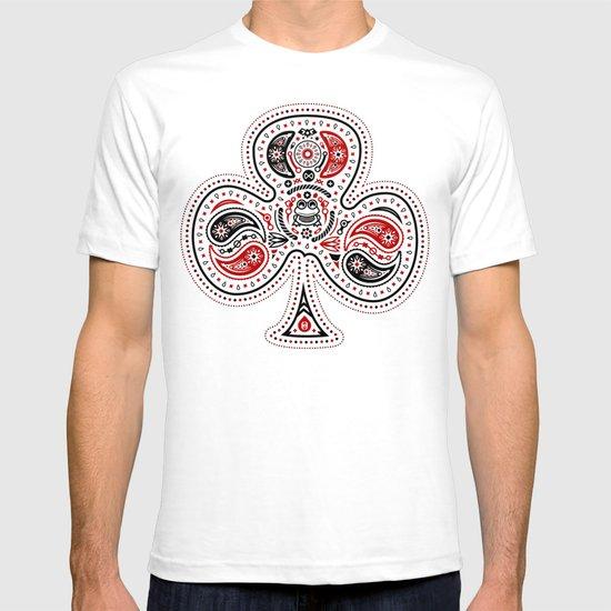 83 Drops - Clubs (Red & Black) T-shirt