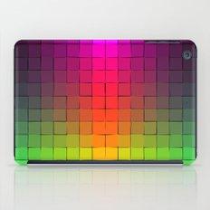 Rainbow squares iPad Case