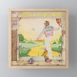 John - Goodbye Yellow Brick Road by Elton Framed Mini Art Print