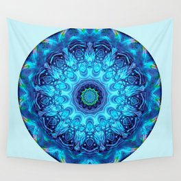 Mandalas from the Heart of Surrender 5 Wall Tapestry