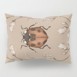 The Ladybug and Sweet Pea Pillow Sham
