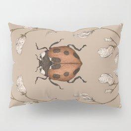 The Ladybug and Sweet Pea Pillow Sham