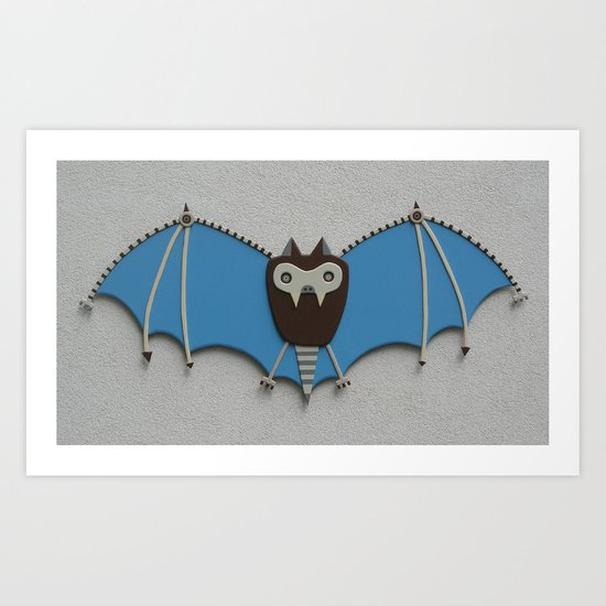 The bat! Art Print