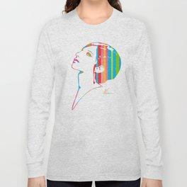 Barbra Streisand | Pop Art Long Sleeve T-shirt
