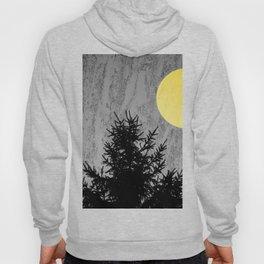 Dark pine tree Hoody