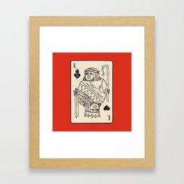 Jesus King of Sacred Hearts / King of Kings Framed Art Print