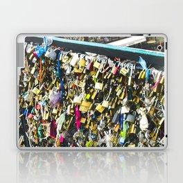 The Love Lock in Paris Laptop & iPad Skin