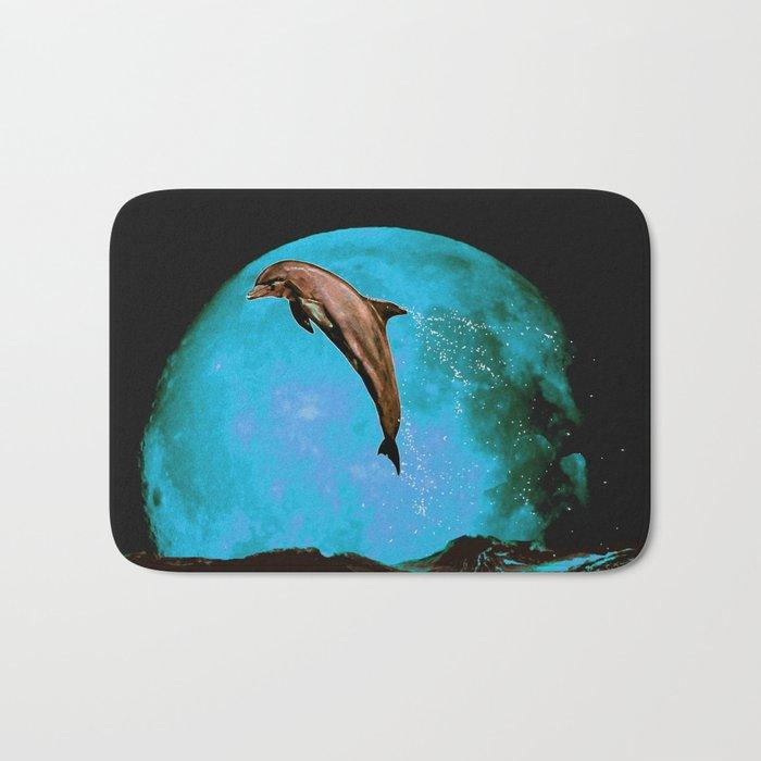 magician of seas - turquoise Bath Mat