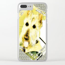Wheaten Scottish Terrier - During Sickness and Health Clear iPhone Case