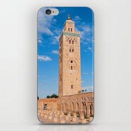Marrakech, Morocco: Koutoubia Mosque iPhone Skin