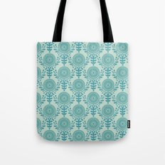 Paper Doily (BLUE) Tote Bag