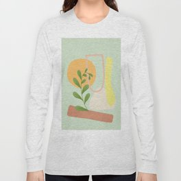 Partially Abstract 4 Long Sleeve T-shirt