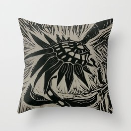 lino eye Throw Pillow