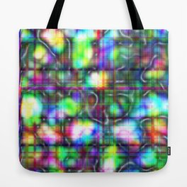 Abstract Mother of Pearl Tote Bag