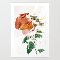 Invisible Essentials Art Print