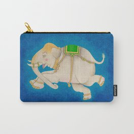 Happy Dreamtime Elephant Carry-All Pouch