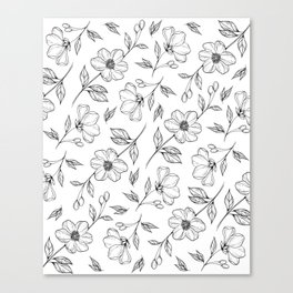 Floral Illustration Canvas Print