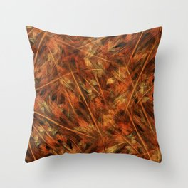 Iterations of Nature Throw Pillow