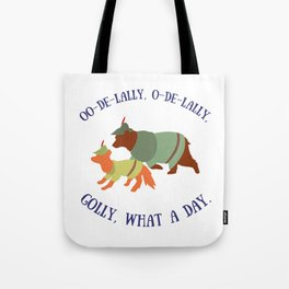Robin Hood and Little John Tote Bag