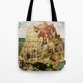 Tower Of Babel Pieter Bruegel The Elder Tote Bag