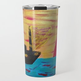 Sailing toward Antares Travel Mug