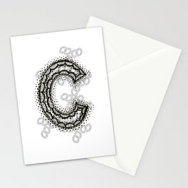 Color Me C Stationery Cards
